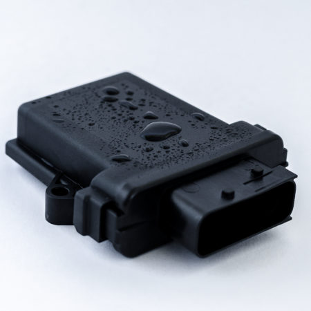 PEG-F: wasserdichtes und staubdichtes Automotivegehäuse nach IP69K mit HDSCS-Stecker automotive housing