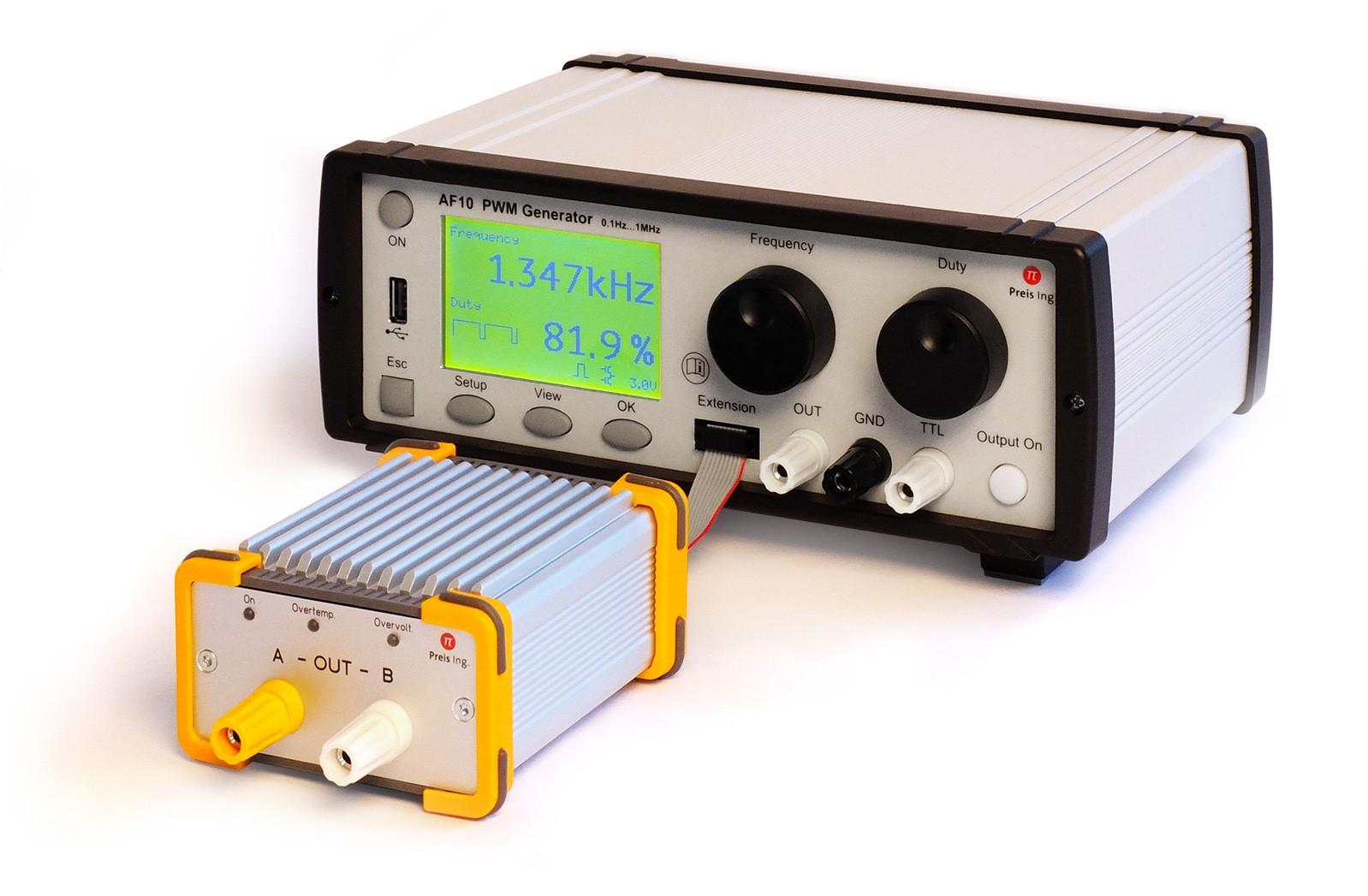 AF10: AF 10 PWM Generator mit Vollbrückenmodul full bridge module FBM 6020 Laborgerät oder Prüfstand