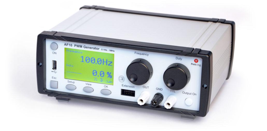 AF10: AF 10 PWM Generator Prüfstand autonomes Laborgerät
