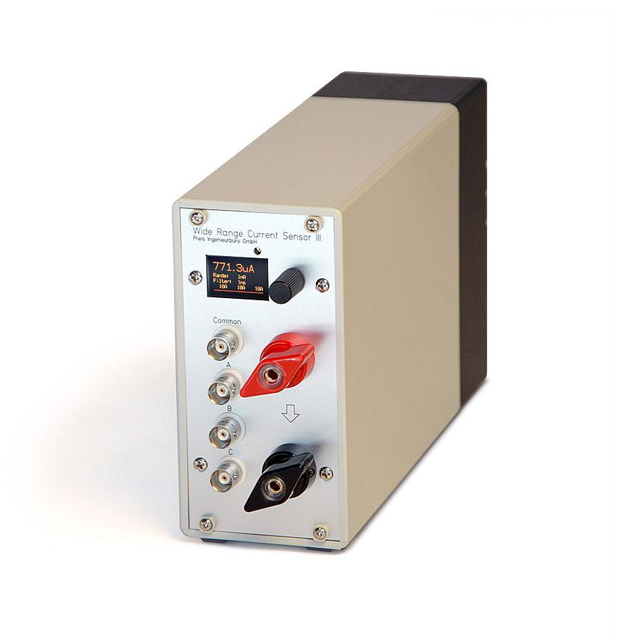 WRCS III: Weitbereich Strommessung Weitbereich Stromsensor als Modul
